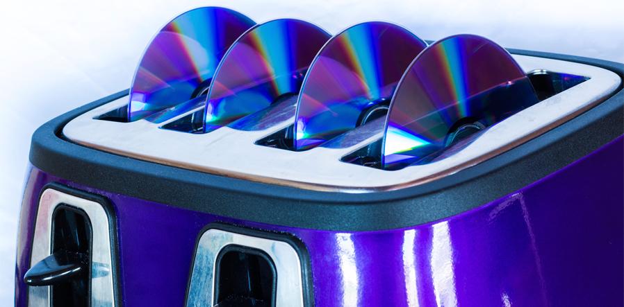cd toaster