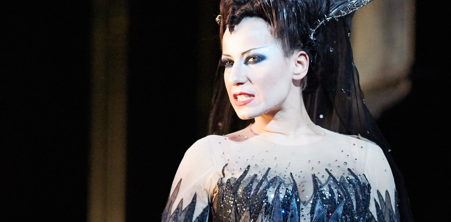 Anna Siminska as Queen of the Night at the Royal Opera House