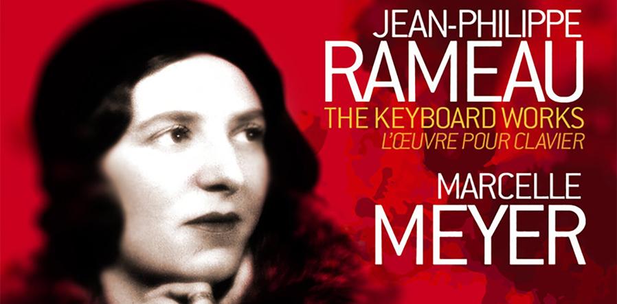 Albumcover Marcelle Meyer Rameau
