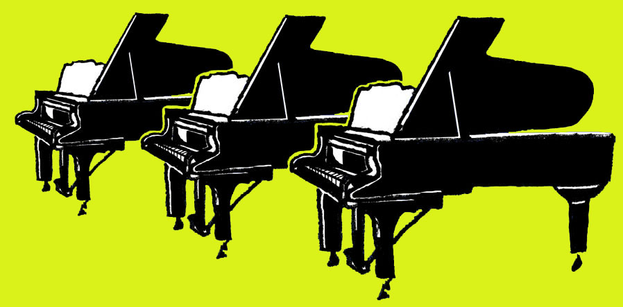 Piano-illustratie