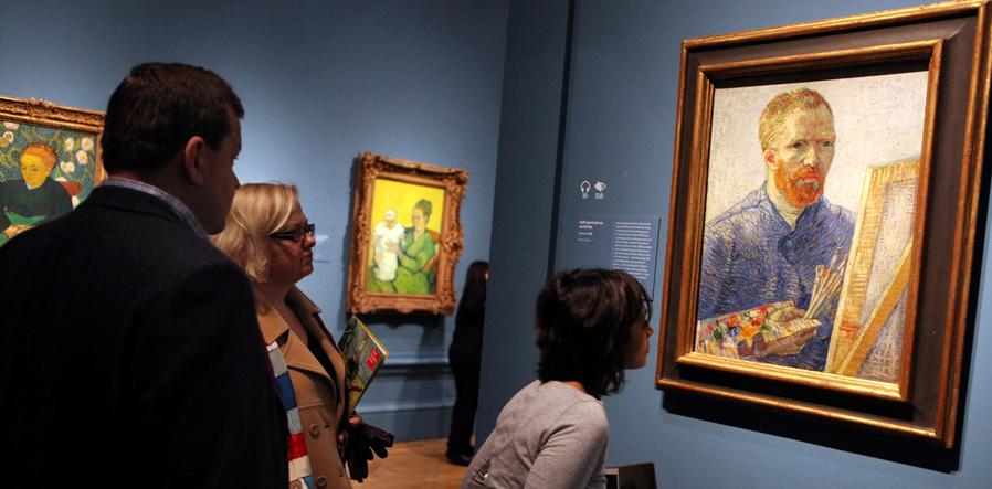 Van Gogh Tentoonstelling