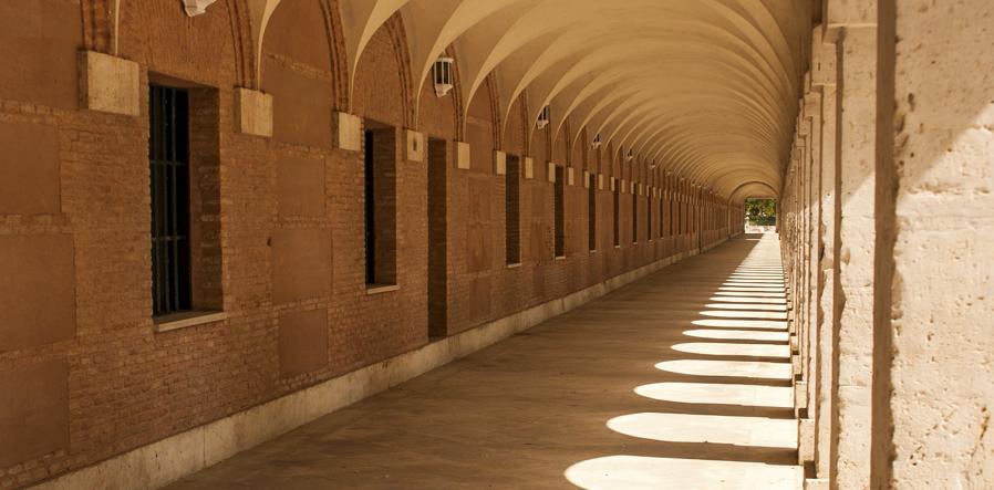 zuilengalerij in Aranjuez