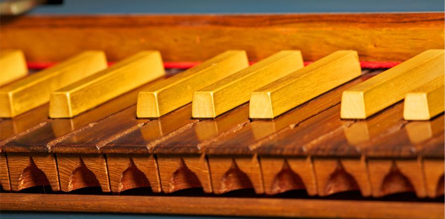 toetsenbord clavecimbel
