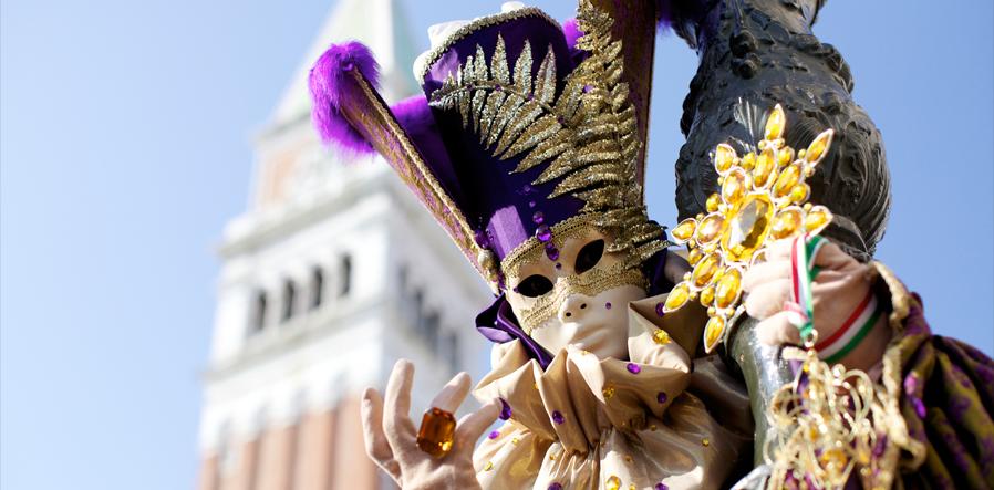 Venetie tijdens carnaval