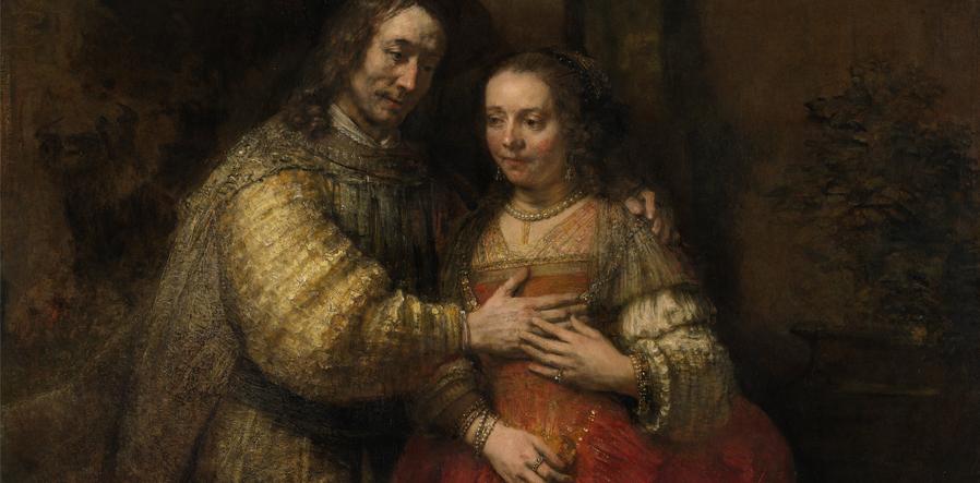 Het Joodse Bruidje van Rembrandt