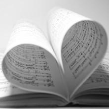 muziekblaadjes-in-hartvorm-220x220