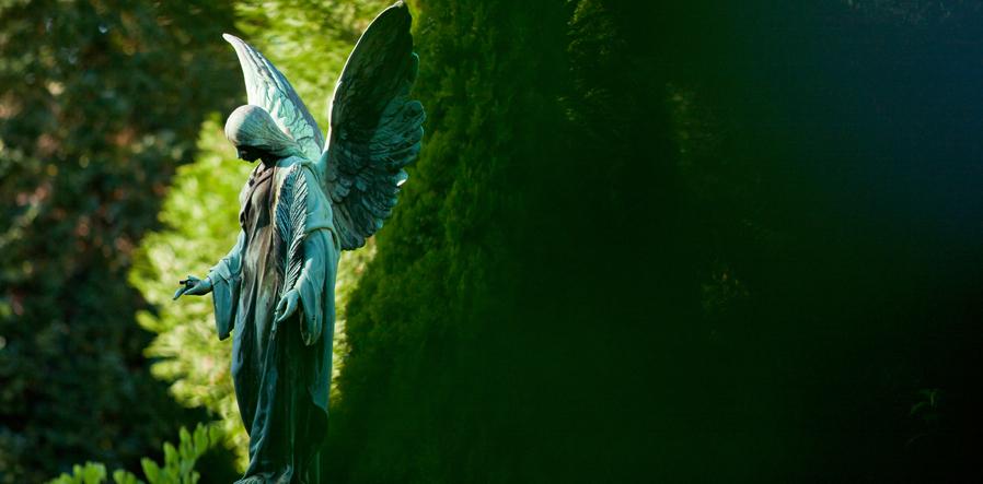 engel op graf