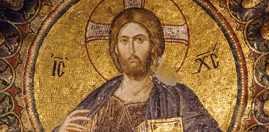 mozaiek Jezus