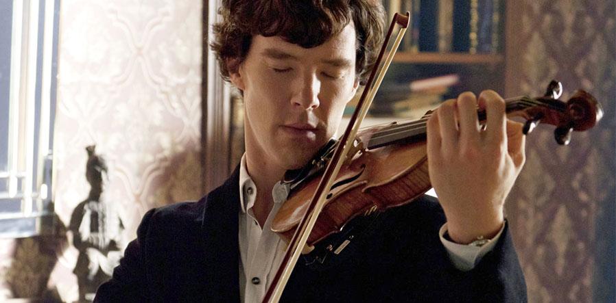 Benedict Cumberbatch als Sherlock Holmes in Sherlock (2012)