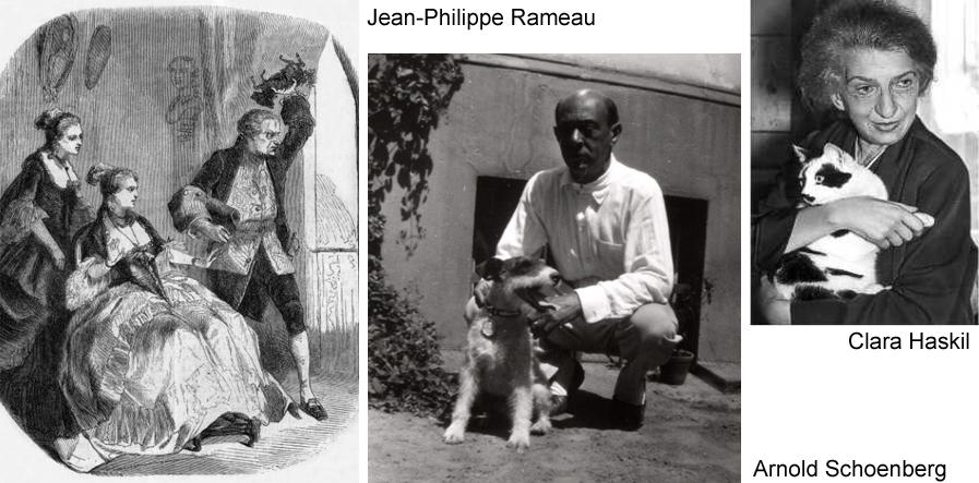 q Schoenberg Rameau Haskil