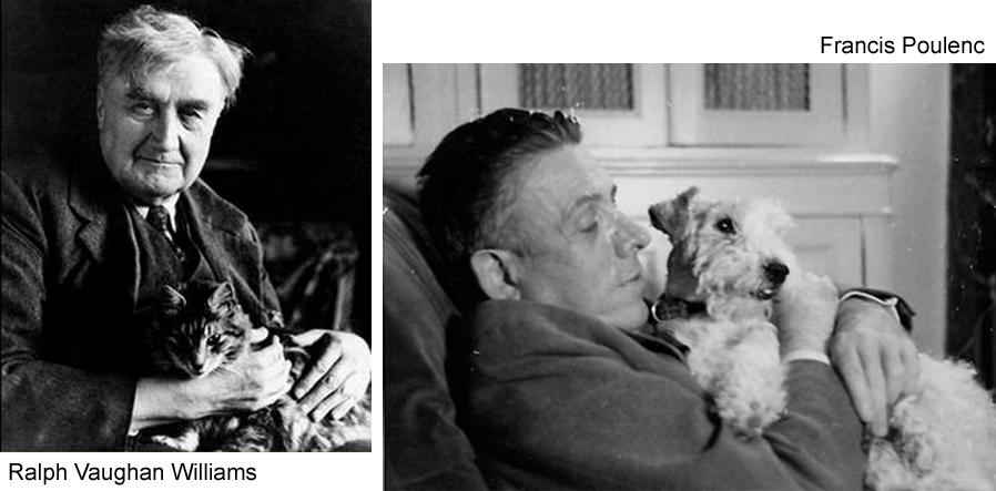 q Vaughan Williams Poulenc