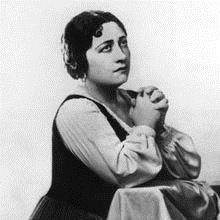 Ebe Stignani (1903-1974) mezzo soprano italienne c. 1935 --- Ebe Stignani (1903-1974) italian mezzo-soprano c. 1935