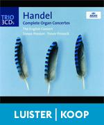 Handel Organ Concertos Orgel Concerten