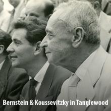 bernstein koussevitzky tanglewood