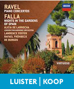 De Falla Spanish Nights Spaanse Nachten Ravel Piano
