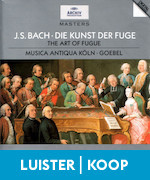Art of Fugue Kunst der Fuge Bach Musica Antiqua Köln